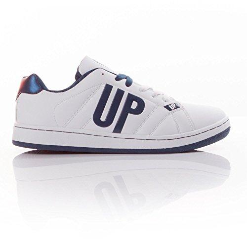 UP Zapatillas Blanco Marino Hombre