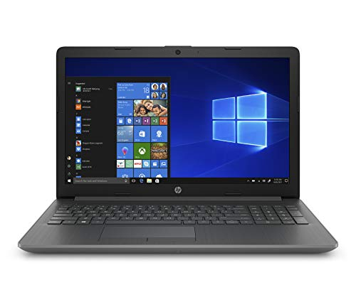 HP 15-inch Laptop, AMD A4-9125 Processor, 4 GB RAM, 128 GB Solid-State Drive, Windows 10 Home with DVD Drive (15-db0050nr, Chalkboard Gray)