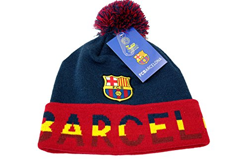 FC Barcelona Authentic Official Licensed Product Soccer Beanie - 004 by RHINOXGROUP