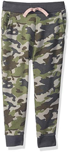 Gymboree Girls' Big Relaxed Fit Joggers, camo, S ()
