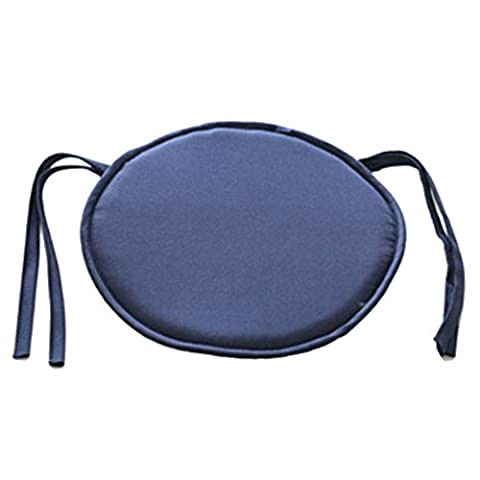Chair Pads, Round Chair Seat Pads Cushion with 9 Color Choice, for Indoor Dining Garden Patio Home Office Kitchen (Indoor Chaise Chair Cover)
