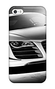 New Cute Funny Audi R8 17 Case Cover/ Iphone 5/5s Case Cover