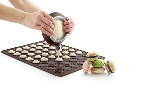 Amazon lekue macaron mat baking mats kitchen dining urmus Image collections