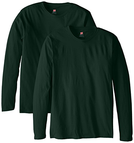 T sleeve Vert Long Foncé shirt Men's Hanes Premium wY5IxEW7