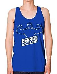 Bro Science Men's Empire Lifts Back Tank-top