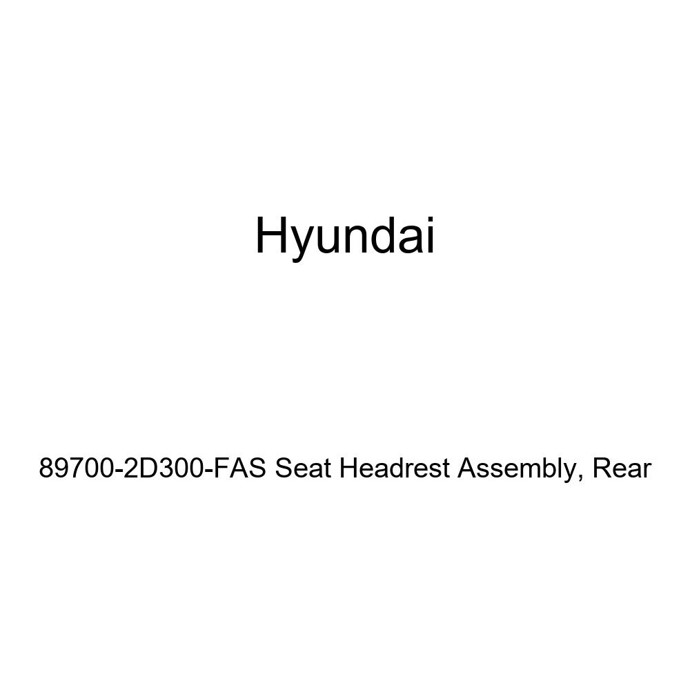 Genuine Hyundai 89700-2D300-FAS Seat Headrest Assembly Rear