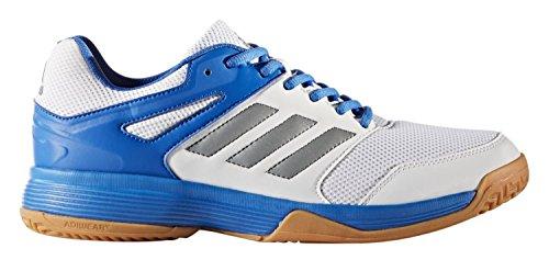 adidas Herren Speedcourt M Turnschuhe Mehrfarbig (Ftwbla/Nocmét/Blau 000)