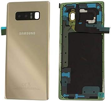 Handyteile24 GH82-14979D - Tapa Trasera para Samsung Galaxy Note 8 N950F, Color Dorado: Amazon.es: Electrónica