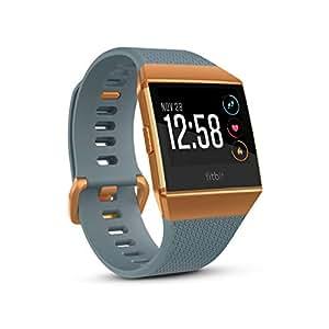 Fitbit Ionic Smart Fitness Watch - Slate Blue/Burnt Orange