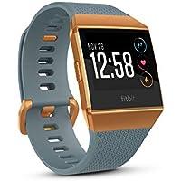 Fitbit Ionic Smart Watch with Heart Rate Monitor (Slate Blue/Burnt Orange) + $40 Kohls Cash