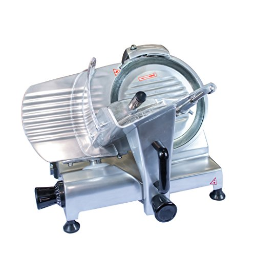 """Chicago Food Machinery cfm-10 Deli Meat Slicer, Stainless Steel, 10"""""""