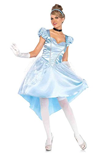 Cinderella Halloween Costume 2016 (3pc. Enchanting Cinderella Costume Bundle with Pink Shorts)