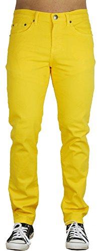 yellow skinny pants - 2