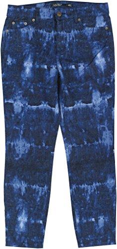 Lauren Ralph Lauren Womens Slimming Fit Crop Skinny Jeans Blue 12 (Ralph Lauren Leather Jeans)