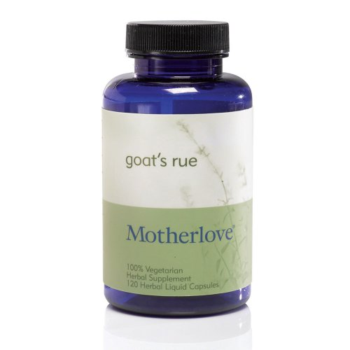 Motherlove Goat's Rue Herbal Breastfeeding Supplement for Lactation Support, 120 Liquid Capsules