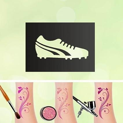 Tattoo Plantillas Botas de fútbol para auto-adhesivos kinders ...