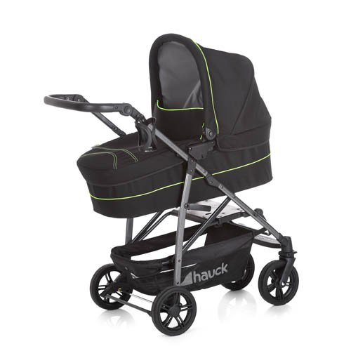 Hauck 149645 – Buggy, Color Caviar and Neon Yellow
