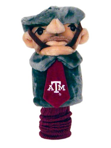 NCAA Texas AandM University Team Mascot Head Cover, Outdoor Stuffs