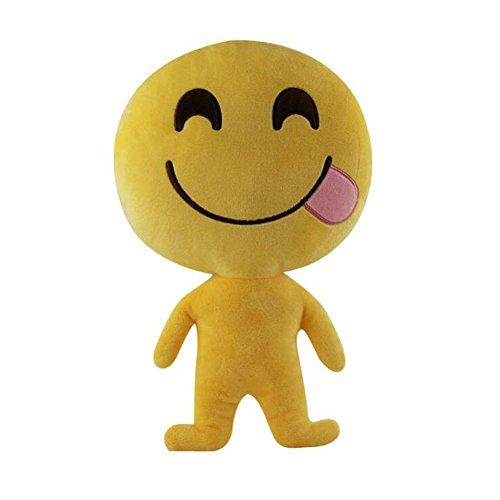 [ZhiDa Cute Emoji Stuffed Toys Soft Plush Dolls for Boys Girls] (Cute Diy Womens Halloween Costume)