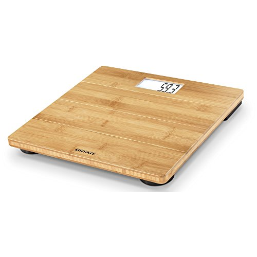 Soehnle Bamboo Natural Personal Digital Bathroom Scale