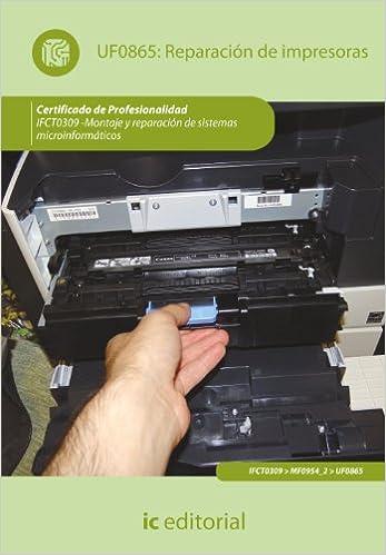 Libro reparación de impresoras