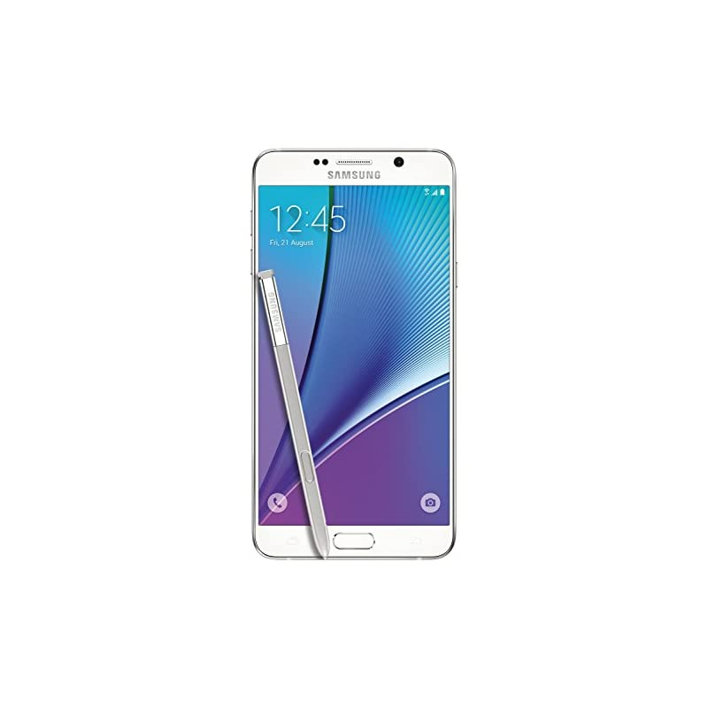 Samsung Galaxy Note 5, White 32GB (AT&T