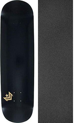 ファントム消去実施するMini Logo Chevronブラックスケートボードデッキ250 – 8.75