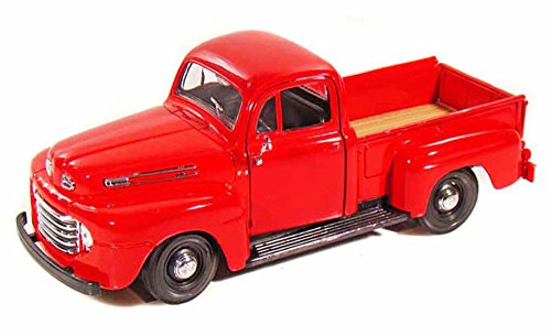 Maisto 1948 Ford F-1 Pickup Truck, Red 31935-1/25 Scale Diecast Model Toy - Diecast Ford