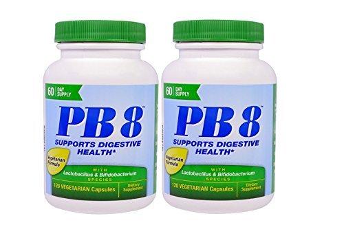 Nutrition Now PB 8 ProBiotic Acidophilus Vegetarian – 120 VegCap, 2 pack Review