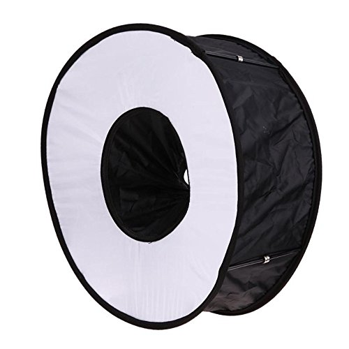 MChoice Softbox Flash Light 45cm Foldable Speedlight for Canon Nikon Camera Accessories Black
