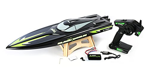 Rage RC B1200 Black Marlin Ready To Float Radio Control Power Boat