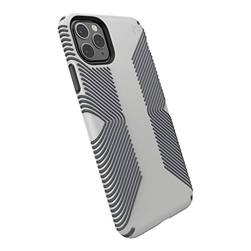 Speck Products Presidio Grip iPhone 11 PRO Max Case, Marble Grey/Anthracite Grey