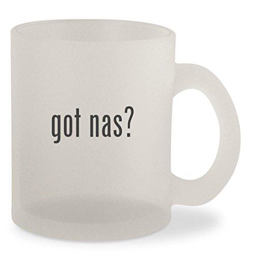 got nas? - Frosted 10oz Glass Coffee Cup Mug (Dobara Na Milegi Poster Zindagi)