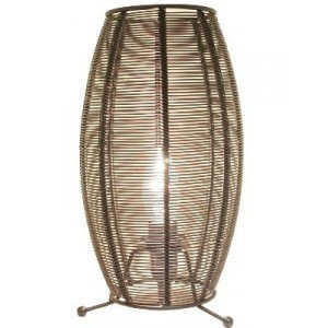 Poole Lighting Decorative Wire Candle Table Lamp [Evie] by Poole Lighting