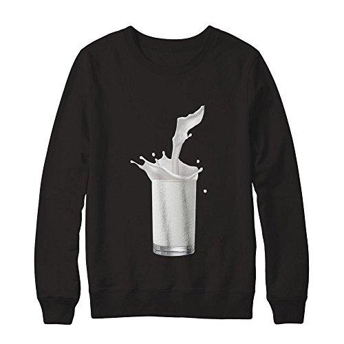 (Teely Shop Women's Funny Milk Halloween Costume Gildan - Pullover)