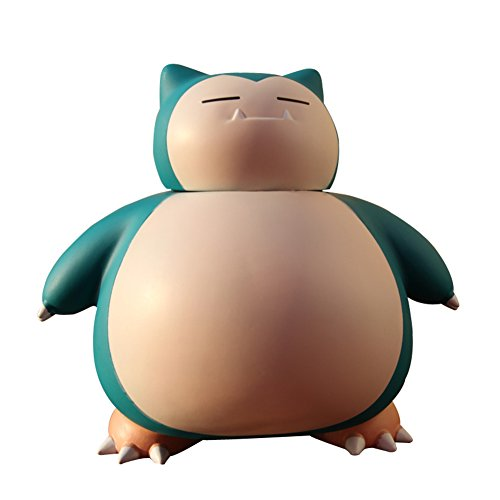 Pokemon Bank - YOURNELO Cartoon Cute Shatter-Resistant Pokemon Go Snorlax Toy Bank Money Box Coin Piggy Bank for Boys Girls (Snorlax)
