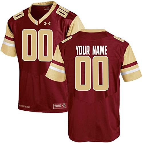 (NCAA Custom Boston College Eagles Football Replica Jersey (Large))
