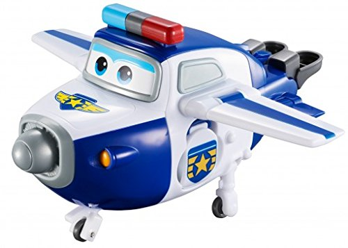 """Super Wings - Transforming Paul Toy Figure 