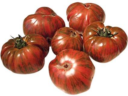 Organic Chocolate Stripes Heirloom Tomato Seeds -...