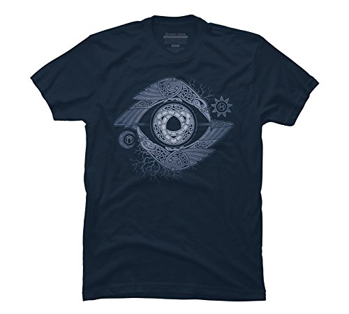Design By Humans Odin#039s Eye Men#039s Graphic T Shirt