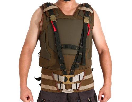 [Tom Hardy Cosplay Costume TDKR Bane Coat Vest Size M] (Dark Knight Rises Bane Costumes Sale)