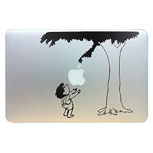 Evertrust(TM) Cute Child under the tree Funny Vinyl Laptop Skin Decal fits for Apple Macbook Pro / Air 13'' Pro 13inch retina Gift