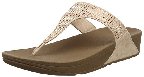 137 Sandals Donna Sandali Toe Incastone Thong Fitflop Nude Beige fAn87O