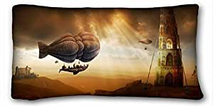 Custom Characteristic Nature Custom Zippered Pillow Case 20x36 inches(one sides) from Surprise you suitable for Twin-bed