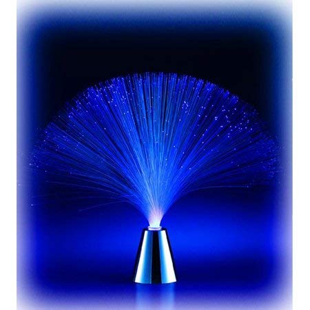 Multicolor Romantic LED Fiber Optic Flashing Night Light for Home Decor