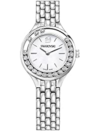 Lovely Crystals Mini Silver Tone Ladies Watch 5242901