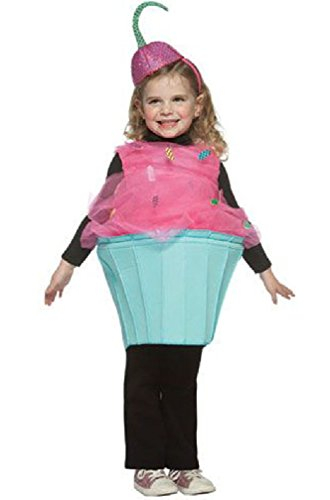 8eighteen Sweet Cupcake Outfit Toddler Costume (Cupcake Fairy Halloween Costume)