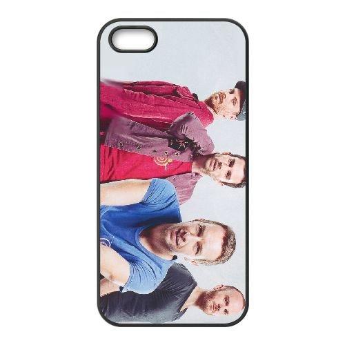 Coldplay 005 coque iPhone 5 5S cellulaire cas coque de téléphone cas téléphone cellulaire noir couvercle EOKXLLNCD22933
