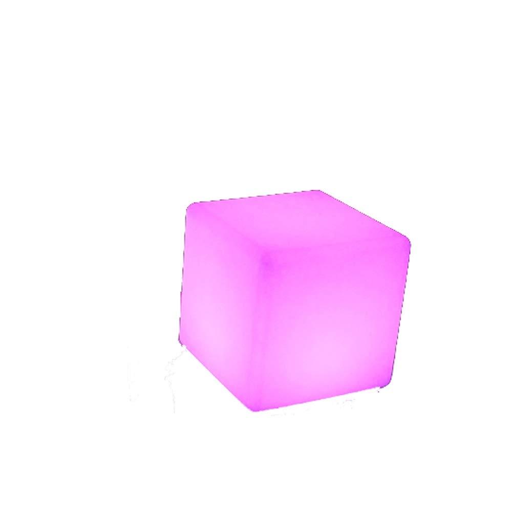 ahorra hasta un 80% Paddia LED Cubo Taburete de de de luz Cambio de Color Lámpara de humor Bar de jardín al aire libre Muebles Mesas de asiento Silla Iluminación que cambia de Color A prueba de agua Los niños tienen modos de c 101010cm  descuento online