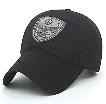 Black Baseball & Snapback Hat For Men